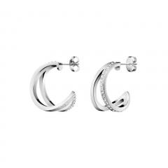 CALVIN KLEIN Outline Creole Earrings KJ6VME040100