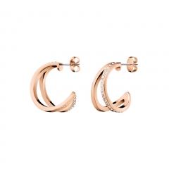 CALVIN KLEIN Outline Creole Earrings KJ6VPE140100