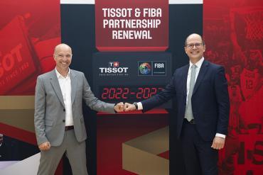 TISSOT và FIBA: mối quan hệ đối tác bền vững