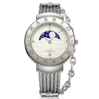 CHARRIOL ST-TROPEZ MOONPHASE WATCH 35MM ST35CS.560.024