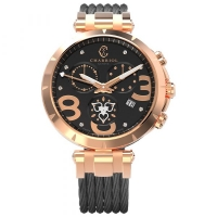 CHARRIOL CELTICA HEART LADY CHRONO WATCH 37MM C36P.55.006