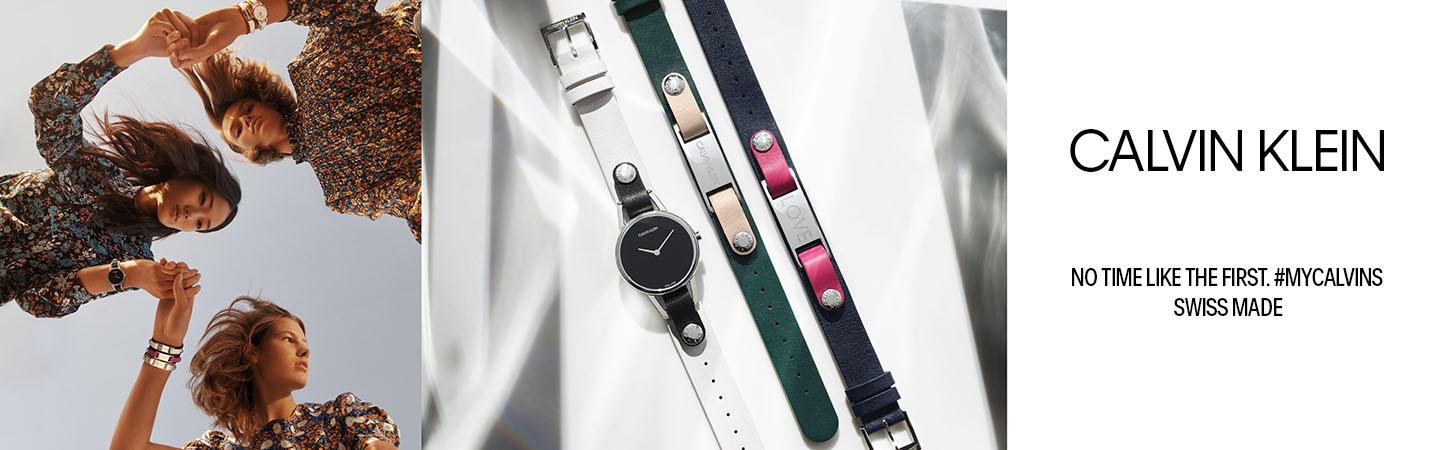 Calvin Klein watches and jewellery